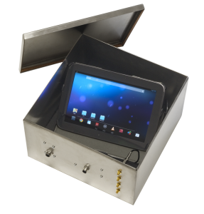 RF Guard is available in different sizes to test larger UE such as tablets