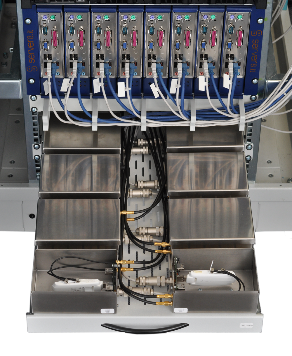 10 years experience in mobile network testingspace saving individual shielding up to 8 rf guards fit on a rack shelf