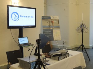 Qosmotec's Car2Car Testing set up at Car2Car Forum 2015