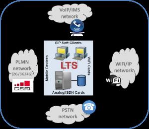 Call generator network accesses